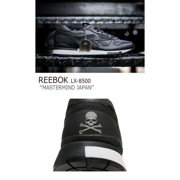 Reebok LX 8500 Mastermind JAPAN / ブラック リーボック  マスターマインド シューズ|a-labs|03
