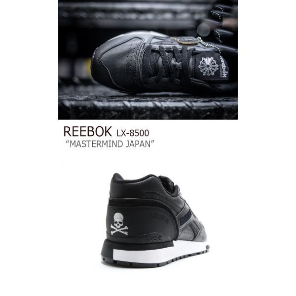 Reebok LX 8500 Mastermind JAPAN / ブラック リーボック  マスターマインド シューズ|a-labs|04