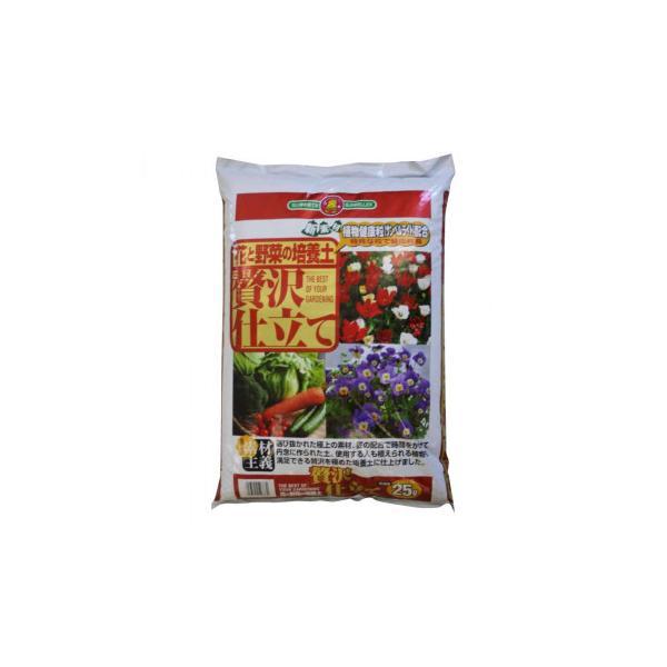 肥料 ガーデニング ばいようどSUNBELLEX 花と野菜の培養土 贅沢仕立て 25L×6袋 代引き不可