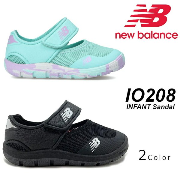 ニューバランス New Balance NB IO 208 ブラック ピンク ブルー マジックテープ