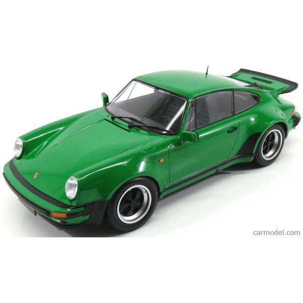 ポルシェ 911 930 ミニカー 1/12 MINICHAMPS PORSCHE 911 930 TURBO COUPE 1977 GREEN MET 125066102|a-mondo2