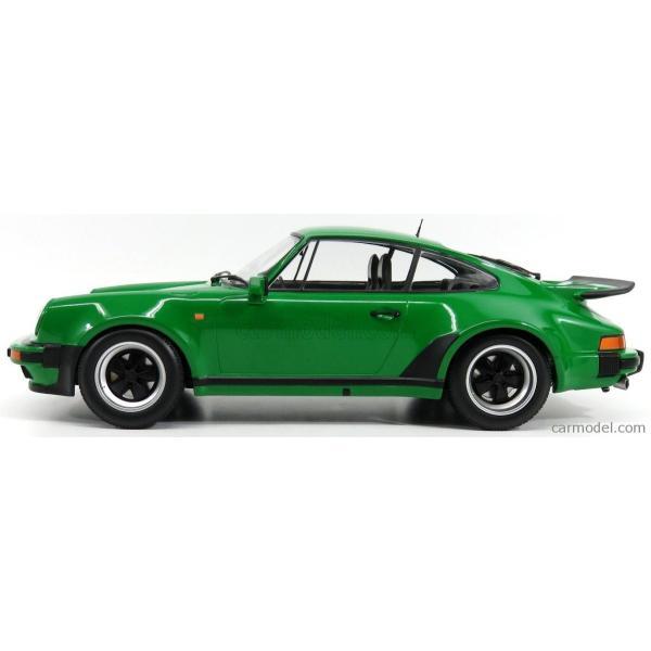 ポルシェ 911 930 ミニカー 1/12 MINICHAMPS PORSCHE 911 930 TURBO COUPE 1977 GREEN MET 125066102|a-mondo2|03
