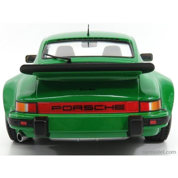 ポルシェ 911 930 ミニカー 1/12 MINICHAMPS PORSCHE 911 930 TURBO COUPE 1977 GREEN MET 125066102|a-mondo2|05