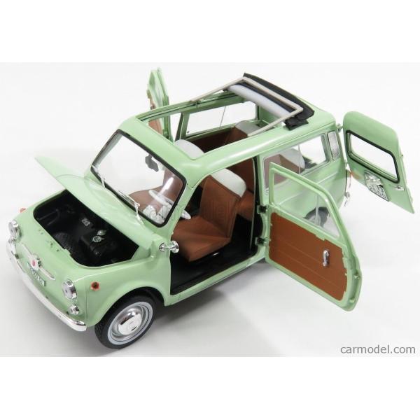 フィアット 500 ミニカー 1/18 ノレブ NOREV  FIAT 500 GIARDINIERA 1962 LIGHT GREEN 187723 a-mondo2 04