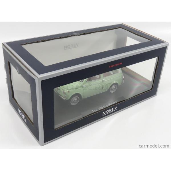 フィアット 500 ミニカー 1/18 ノレブ NOREV  FIAT 500 GIARDINIERA 1962 LIGHT GREEN 187723 a-mondo2 10
