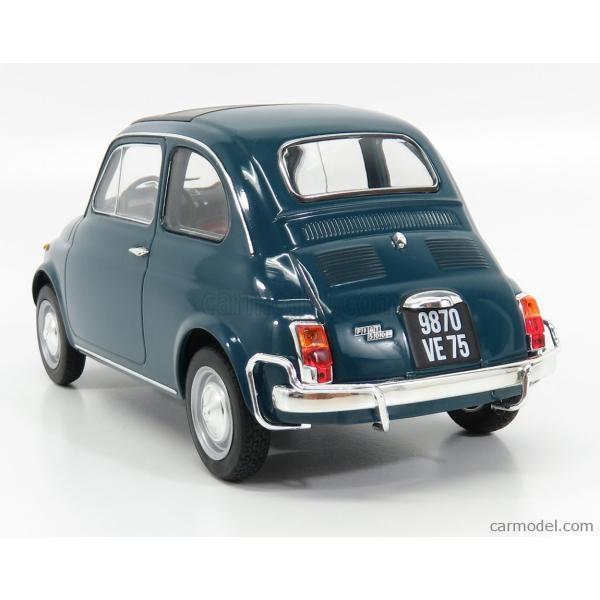 フィアット 500L ミニカー 1/18 ノレブ NOREV FIAT 500L 1968 BLUE 187770|a-mondo2|05