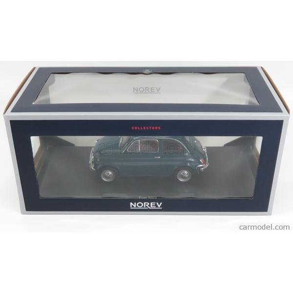 フィアット 500L ミニカー 1/18 ノレブ NOREV FIAT 500L 1968 BLUE 187770|a-mondo2|06