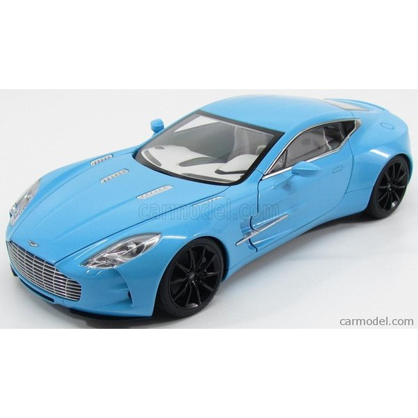 アストンマーチン ONE-77 ミニカー 1/18 オートアート AUTOART  ASTON MARTIN ONE-77 2009 TIFFANY BLUE|a-mondo2