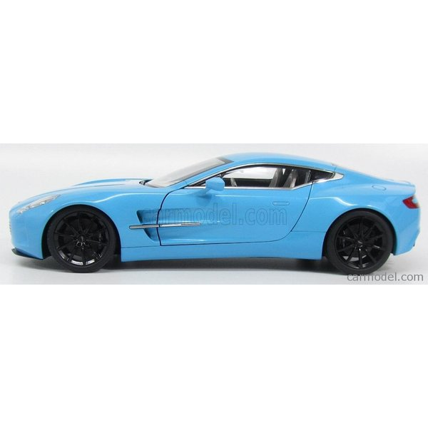 アストンマーチン ONE-77 ミニカー 1/18 オートアート AUTOART  ASTON MARTIN ONE-77 2009 TIFFANY BLUE|a-mondo2|03