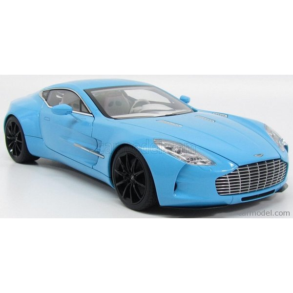 アストンマーチン ONE-77 ミニカー 1/18 オートアート AUTOART  ASTON MARTIN ONE-77 2009 TIFFANY BLUE|a-mondo2|04