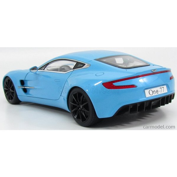 アストンマーチン ONE-77 ミニカー 1/18 オートアート AUTOART  ASTON MARTIN ONE-77 2009 TIFFANY BLUE|a-mondo2|05