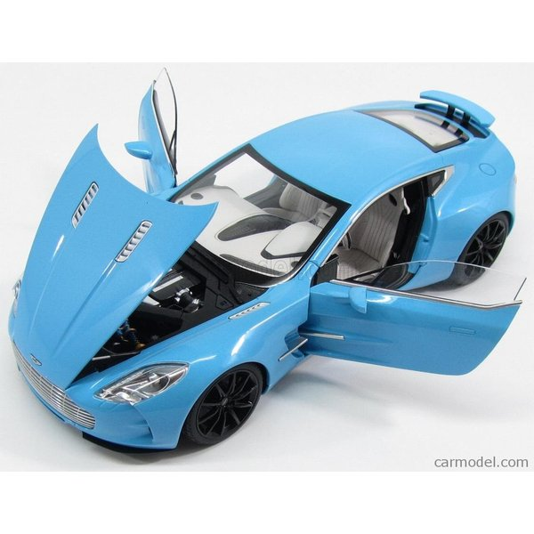 アストンマーチン ONE-77 ミニカー 1/18 オートアート AUTOART  ASTON MARTIN ONE-77 2009 TIFFANY BLUE|a-mondo2|06