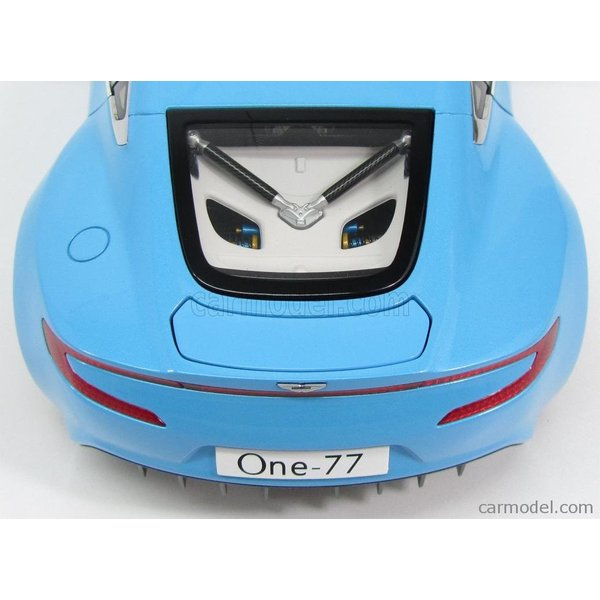 アストンマーチン ONE-77 ミニカー 1/18 オートアート AUTOART  ASTON MARTIN ONE-77 2009 TIFFANY BLUE|a-mondo2|09