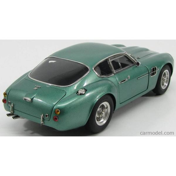 アストンマーチン DB4 ザカート ミニカー 1/18 CMC - ASTON MARTIN - DB4 GT ZAGATO COUPE 1961 GREEN MET|a-mondo2|02