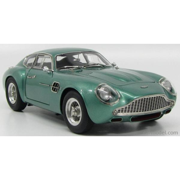 アストンマーチン DB4 ザカート ミニカー 1/18 CMC - ASTON MARTIN - DB4 GT ZAGATO COUPE 1961 GREEN MET|a-mondo2|04
