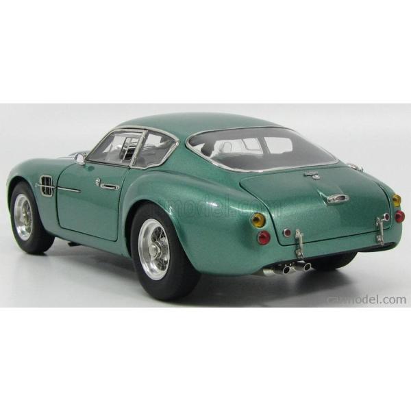 アストンマーチン DB4 ザカート ミニカー 1/18 CMC - ASTON MARTIN - DB4 GT ZAGATO COUPE 1961 GREEN MET|a-mondo2|05