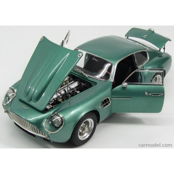 アストンマーチン DB4 ザカート ミニカー 1/18 CMC - ASTON MARTIN - DB4 GT ZAGATO COUPE 1961 GREEN MET|a-mondo2|06