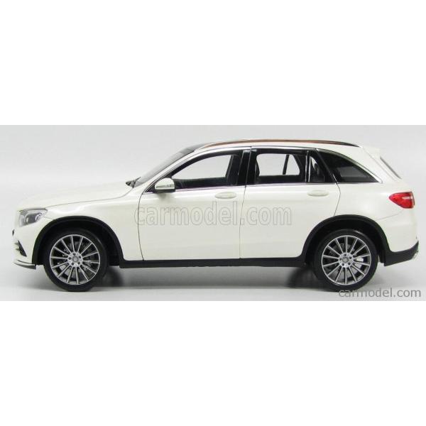 メルセデス ベンツ GLCクラス ミニカー 1/18 ノレブ NOREV - MERCEDES BENZ - GLC-CLASS X253 2015 DIAMANT WHITE|a-mondo2|03