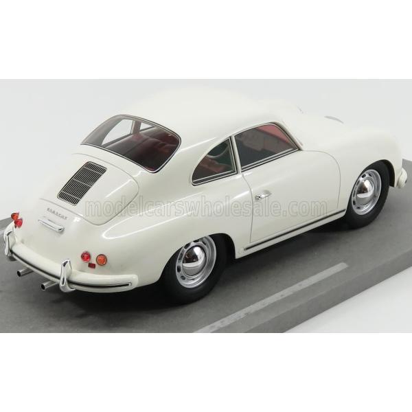 ポルシェ 356A ミニカー 1/18 BBR-MODELS PORSCHE 356A COUPE 1955 WHITE BBRC1820D|a-mondo2|02