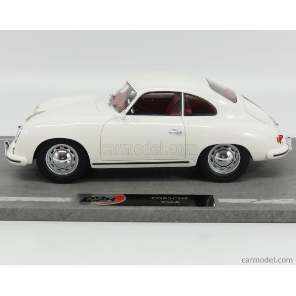 ポルシェ 356A ミニカー 1/18 BBR-MODELS PORSCHE 356A COUPE 1955 WHITE BBRC1820D|a-mondo2|03