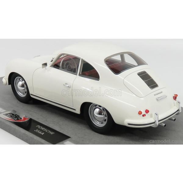 ポルシェ 356A ミニカー 1/18 BBR-MODELS PORSCHE 356A COUPE 1955 WHITE BBRC1820D|a-mondo2|05