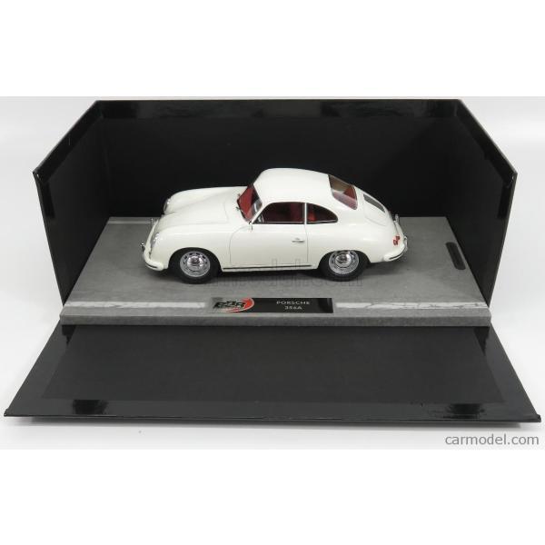 ポルシェ 356A ミニカー 1/18 BBR-MODELS PORSCHE 356A COUPE 1955 WHITE BBRC1820D|a-mondo2|06