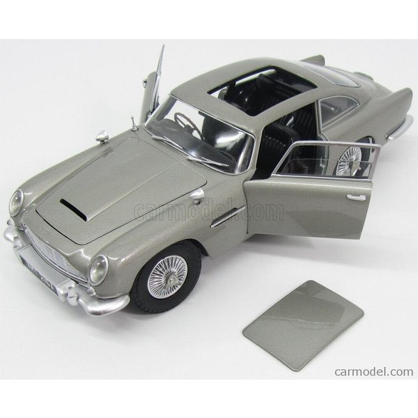 アストンマーチン DB5 ボンドカー ミニカー 1/18 MATTEL HOT WHEELS ASTON MARTIN DB5 1964 007 JAMES BOND GOLDFINGER MISSIONE GOLDFINGER CMC95|a-mondo2|06