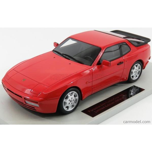 ポルシェ 944 ミニカー 1/18 LS-COLLECTIBLES PORSCHE 944 TURBO S 1991 RED LS023A|a-mondo2