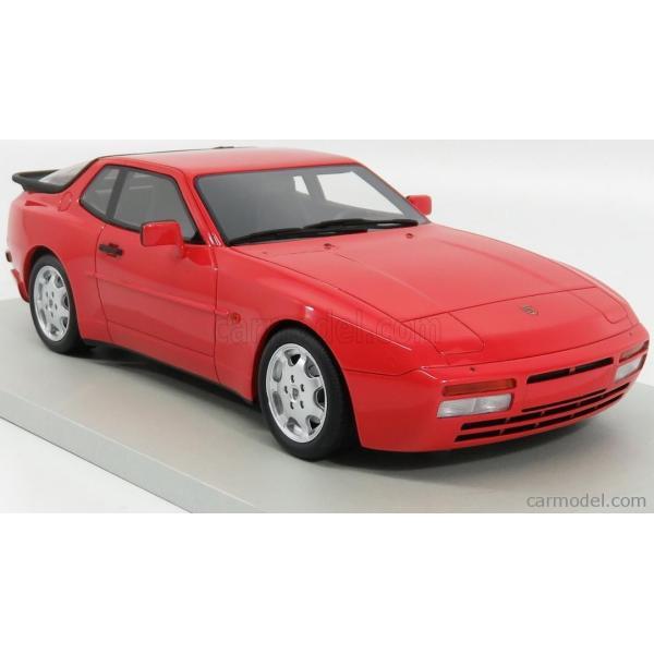 ポルシェ 944 ミニカー 1/18 LS-COLLECTIBLES PORSCHE 944 TURBO S 1991 RED LS023A|a-mondo2|04