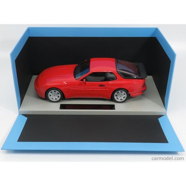 ポルシェ 944 ミニカー 1/18 LS-COLLECTIBLES PORSCHE 944 TURBO S 1991 RED LS023A|a-mondo2|06