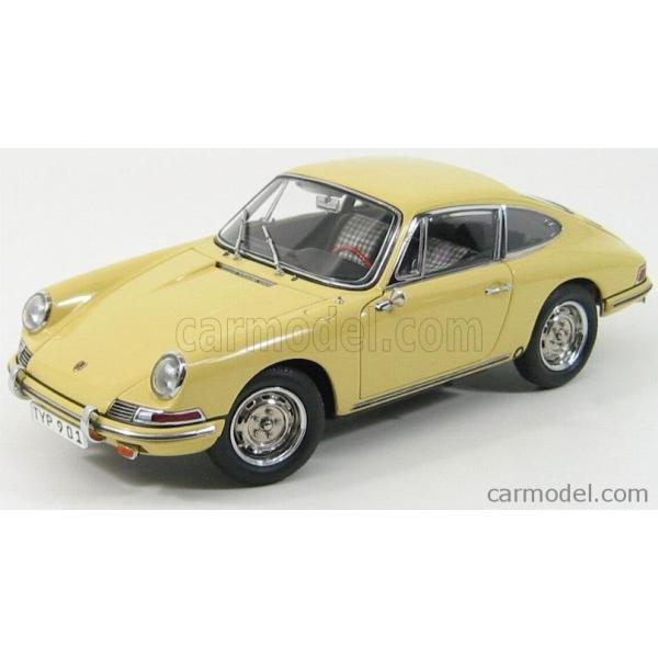 ポルシェ 911 ミニカー 1/18 CMC - PORSCHE - 911 SPORT COUPE 1964 TYPE 901 YELLOW M067A a-mondo2