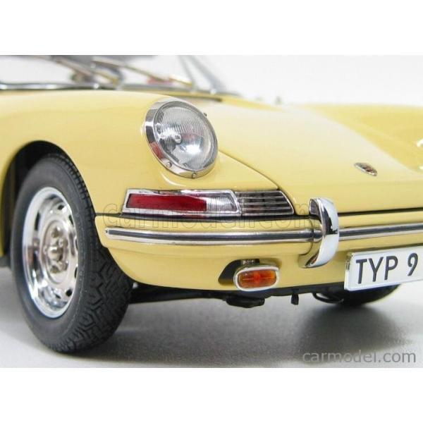 ポルシェ 911 ミニカー 1/18 CMC PORSCHE 911 SPORT COUPE 1964 TYPE 901 YELLOW M067A|a-mondo2|11