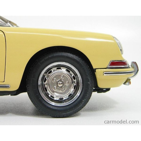 ポルシェ 911 ミニカー 1/18 CMC - PORSCHE - 911 SPORT COUPE 1964 TYPE 901 YELLOW M067A a-mondo2 12