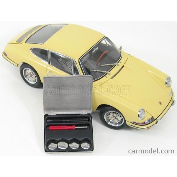 ポルシェ 911 ミニカー 1/18 CMC - PORSCHE - 911 SPORT COUPE 1964 TYPE 901 YELLOW M067A a-mondo2 13
