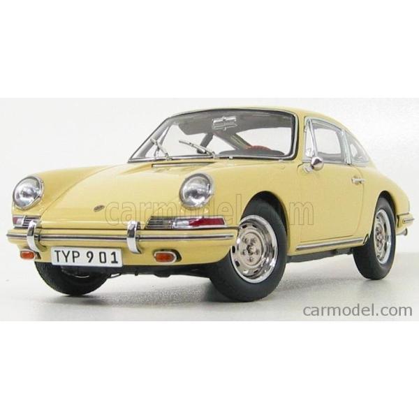 ポルシェ 911 ミニカー 1/18 CMC - PORSCHE - 911 SPORT COUPE 1964 TYPE 901 YELLOW M067A a-mondo2 04