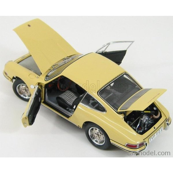 ポルシェ 911 ミニカー 1/18 CMC - PORSCHE - 911 SPORT COUPE 1964 TYPE 901 YELLOW M067A a-mondo2 06