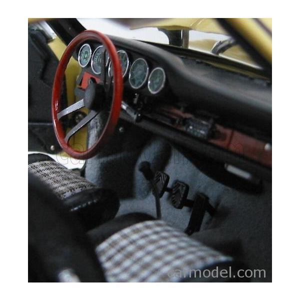 ポルシェ 911 ミニカー 1/18 CMC - PORSCHE - 911 SPORT COUPE 1964 TYPE 901 YELLOW M067A a-mondo2 07