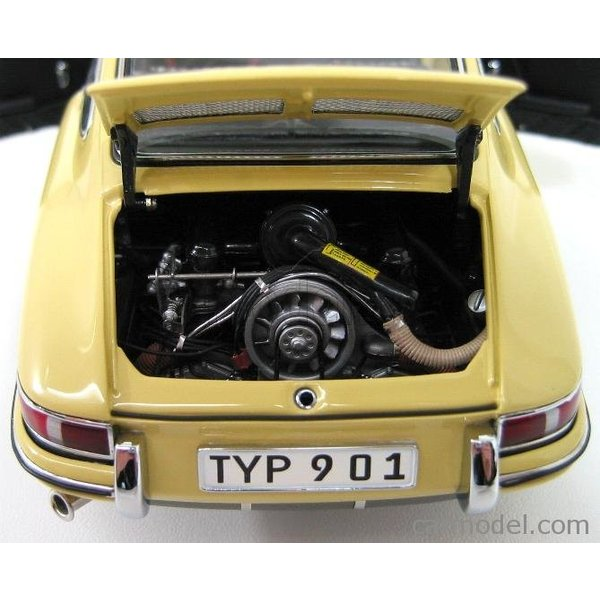 ポルシェ 911 ミニカー 1/18 CMC - PORSCHE - 911 SPORT COUPE 1964 TYPE 901 YELLOW M067A a-mondo2 08
