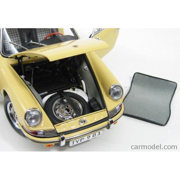 ポルシェ 911 ミニカー 1/18 CMC - PORSCHE - 911 SPORT COUPE 1964 TYPE 901 YELLOW M067A a-mondo2 10