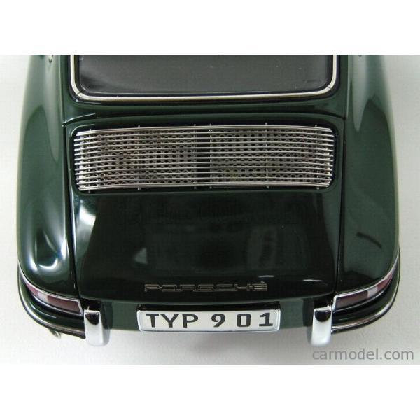 ポルシェ 911 ミニカー 1/18 CMC PORSCHE 911 SPORT COUPE 1964 TYPE 901 GREEN M067B a-mondo2 12