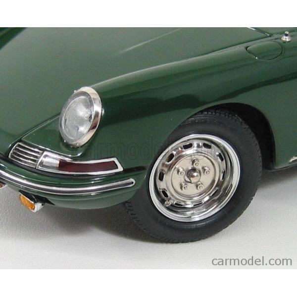 ポルシェ 911 ミニカー 1/18 CMC PORSCHE 911 SPORT COUPE 1964 TYPE 901 GREEN M067B a-mondo2 13