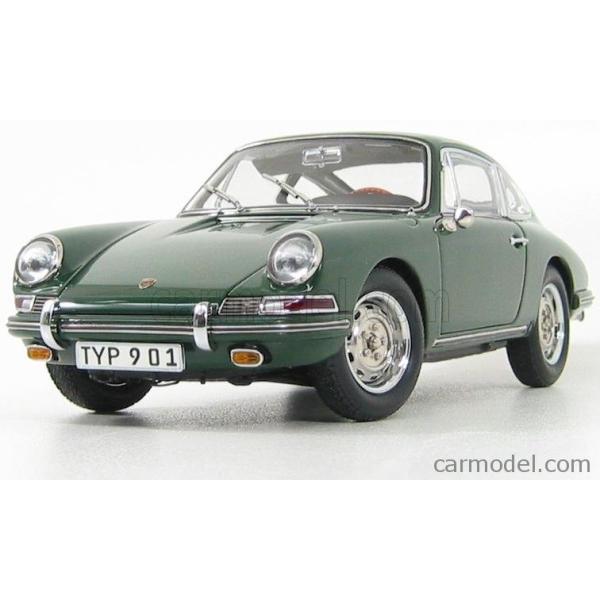 ポルシェ 911 ミニカー 1/18 CMC PORSCHE 911 SPORT COUPE 1964 TYPE 901 GREEN M067B a-mondo2 04