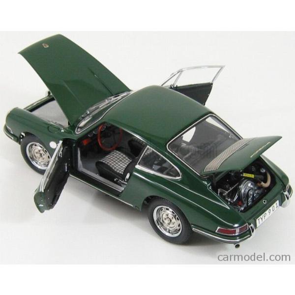 ポルシェ 911 ミニカー 1/18 CMC PORSCHE 911 SPORT COUPE 1964 TYPE 901 GREEN M067B a-mondo2 06