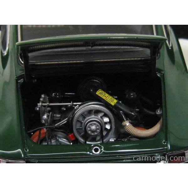 ポルシェ 911 ミニカー 1/18 CMC PORSCHE 911 SPORT COUPE 1964 TYPE 901 GREEN M067B a-mondo2 07