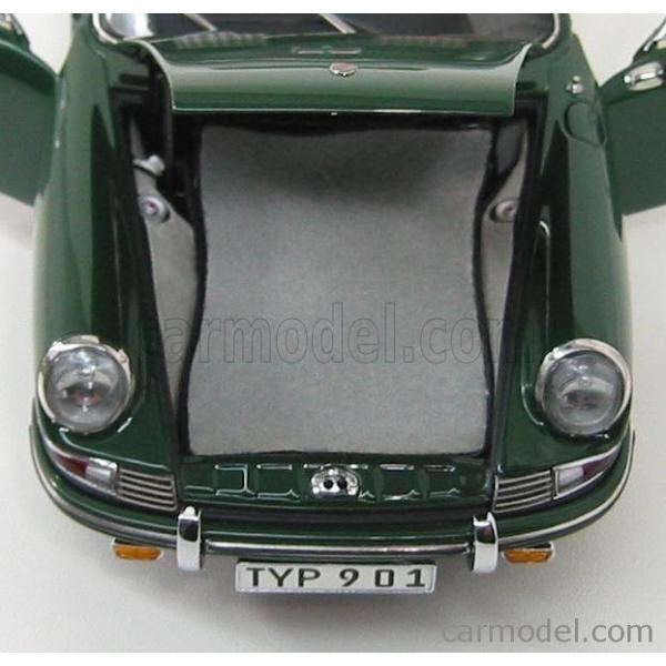 ポルシェ 911 ミニカー 1/18 CMC PORSCHE 911 SPORT COUPE 1964 TYPE 901 GREEN M067B a-mondo2 08