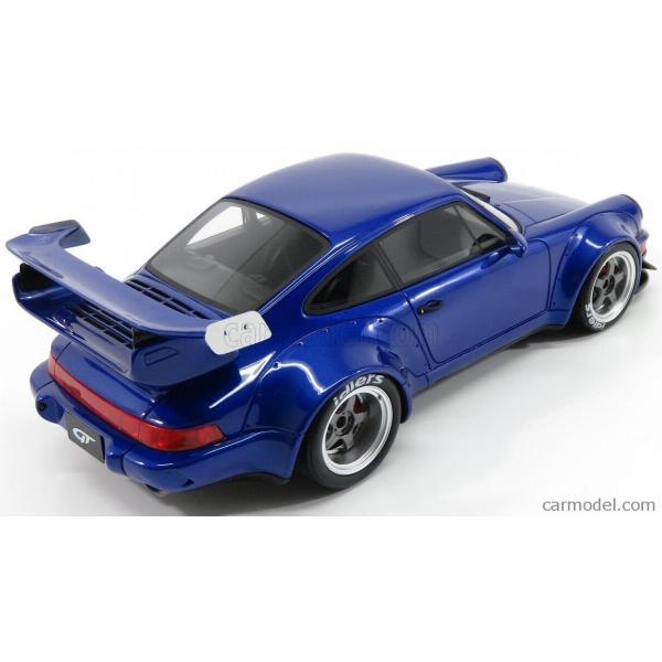 ポルシェ 911 ミニカー 1/18 GT-SPIRIT PORSCHE 911 964 RWB COUPE 1990 BLUE MET ZM100|a-mondo2|02
