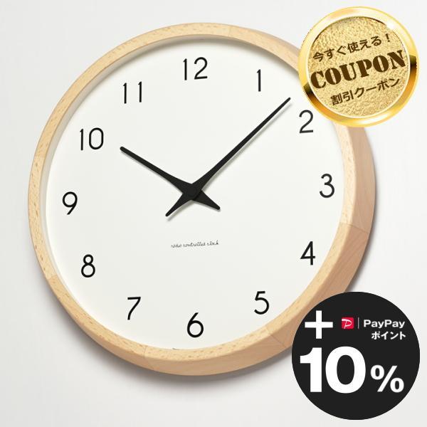 【クロックフックプレゼント】Campagne (カンパーニュ ナチュラル)  [電波時計] Lemnos (タカタレムノス)