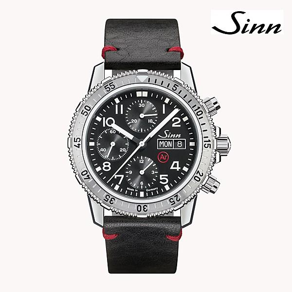 ジン SINN ダイビングウォッチ 206.ST.AR 機械式(自動巻き)腕時計 カウレザーストラップ・ブラック仕様 正規品|a-spiral