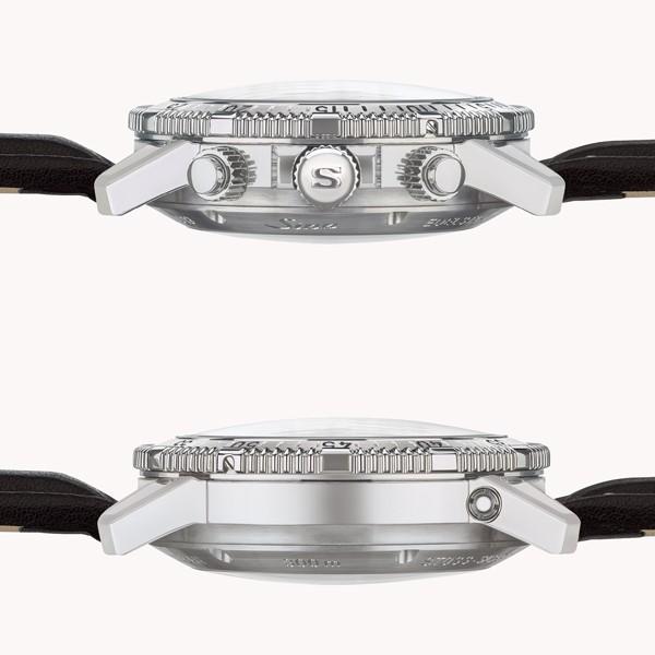 ジン SINN ダイビングウォッチ 206.ST.AR 機械式(自動巻き)腕時計 カウレザーストラップ・ブラック仕様 正規品|a-spiral|02