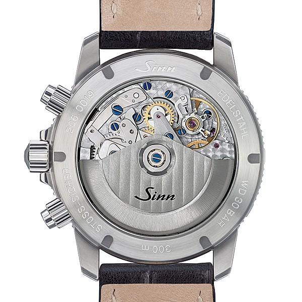 ジン SINN ダイビングウォッチ 206.ST.AR 機械式(自動巻き)腕時計 カウレザーストラップ・ブラック仕様 正規品|a-spiral|03